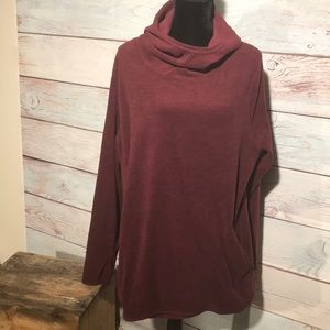 3X Old Navy fleece cowl neck / hoodie with pocket